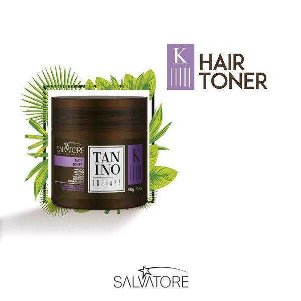 Tanino Therapy līdzekis blondu matu tonēšanai