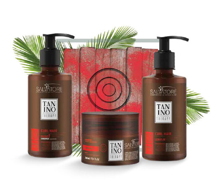 Tanino Therapy комплект для кудрявых волос