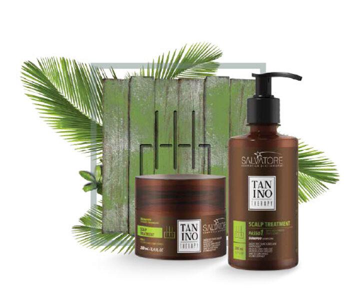 Tanino Therapy Лечение кожи головы шампунь и маска